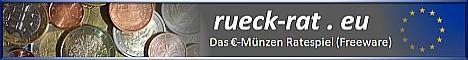 Rück-rat • Das Euro-Münzen-Ratespiel (Freeware)